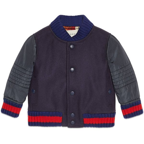 c17d407d1a Gucci Baby Wool And Nylon Bomber Jacket (1.930 RON) found on ...