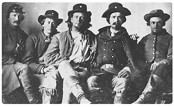 Men of Terry's Texas Rangers ~ The 8th Texas Cavalry, C. S. A
