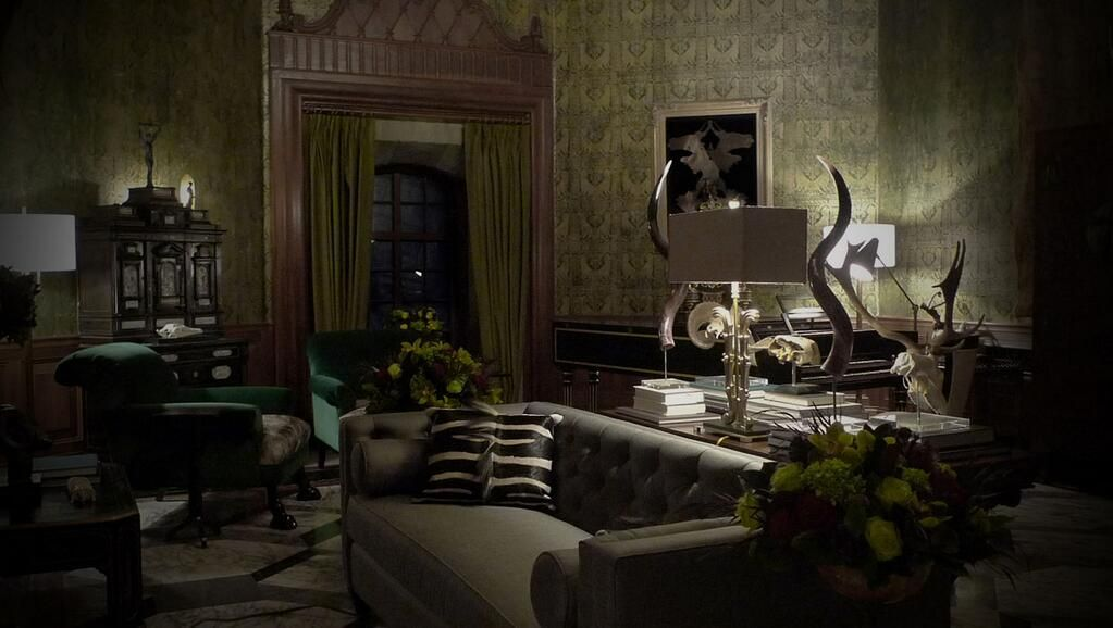 Bryan Fuller Shares Pics Of Hannibal 39 S Living Room