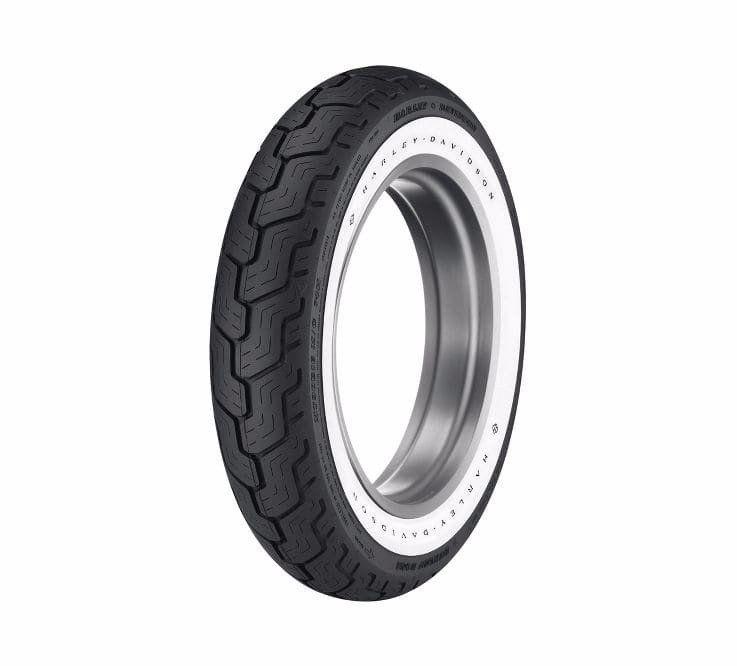 Dunlop Harley Davidson Tire Series D402 Mu85b16 Wide Whitewall