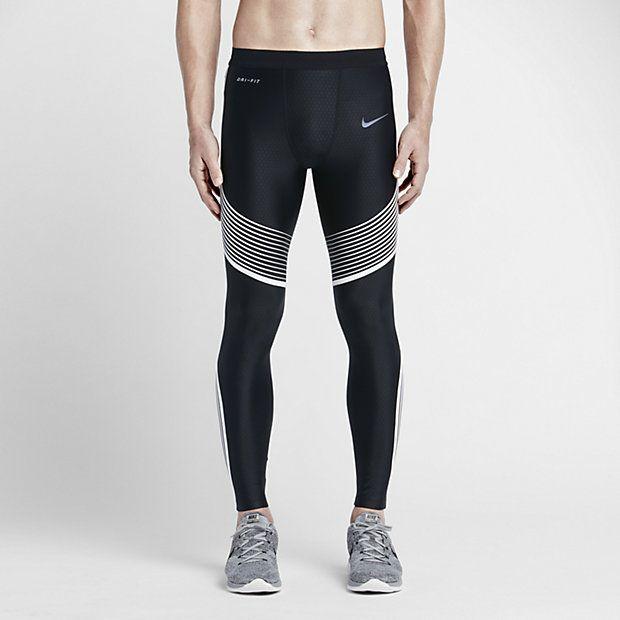Mallas leggings de running Nike Power Speed para hombre Ropa Gym 32937e0d436