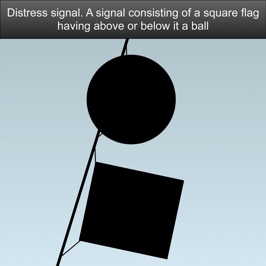 Distress Signals US Inland Navigation Rules - A signal consisting of ...
