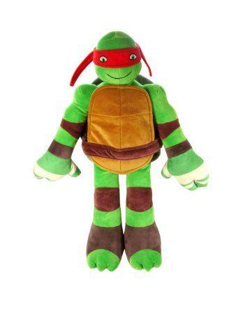 Amazon.com - Nickelodeon Teenage Mutant Ninja Turtles Pillowtime Pal Pillow, Raphael