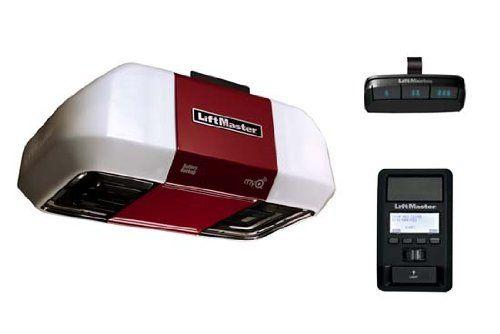 Liftmaster 8550 Garage Door Opener Elite Series Dc Battery Backup W O Rail Assembly Garage Door Hardware Amazon Liftmaster Garage Door Opener Garage Opener