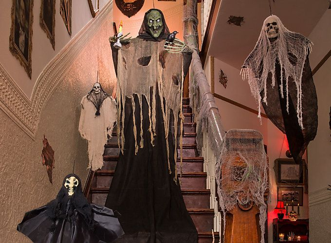 Haunted House Decorating Ideas | This Is Halloween | Pinterest ...