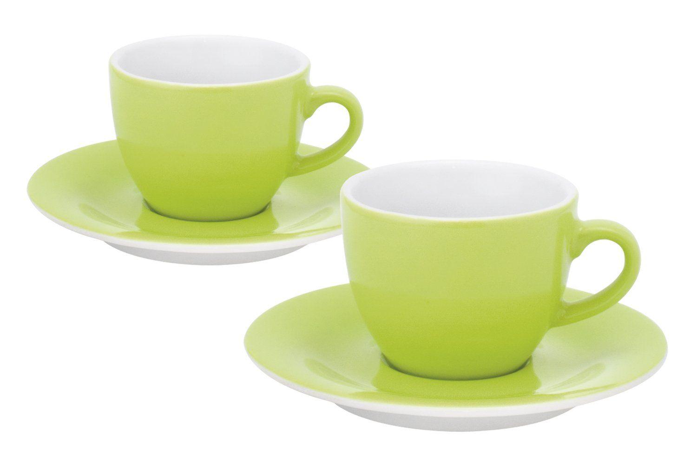Kahla Pronto 57D167A72456C Espresso Cups Set of 4 Lime ...