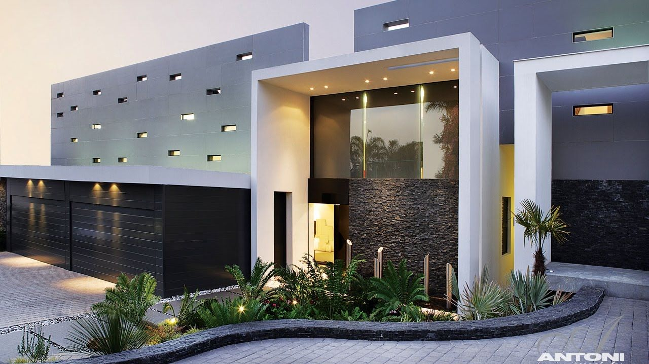Modern Architecture Johannesburg eccentric modern luxury residence in johannesburg, south africa