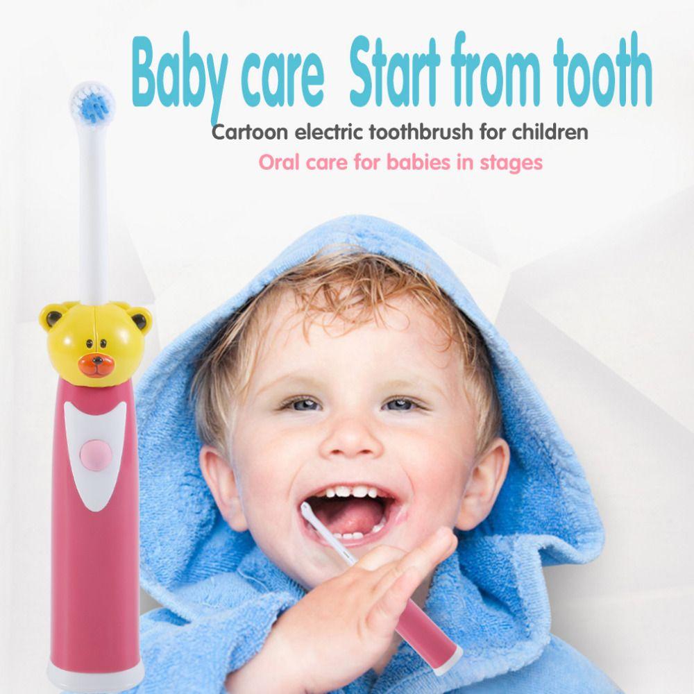 Children cartoon pattern electric toothbrush oral hygiene