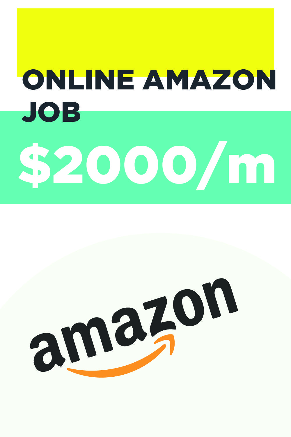 Online Amazon Job that pay1200 per month in 2020 Amazon