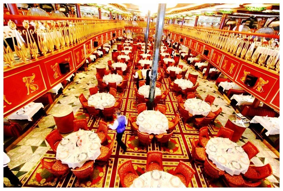Empire Dining Room On Board Carnival Spirit