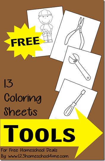 Preschool Printables: All About Tools Printable | prek community ...
