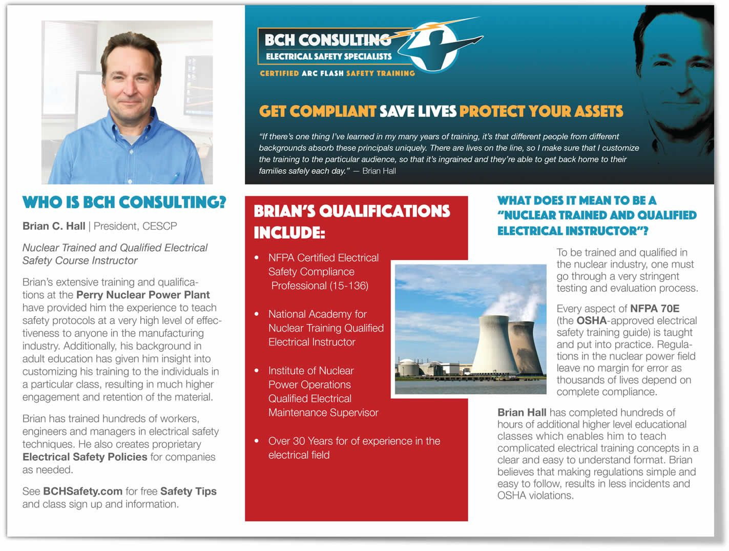 BCH Electrical Safety Consulting Edwards Communications