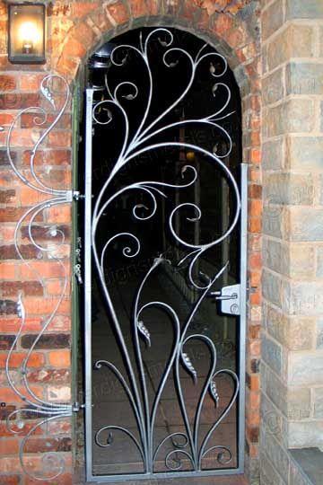 Iron Garden Gates Pedestrian Wrought Bespoke Furniture Projects Portal For The Home Custom Make Gate