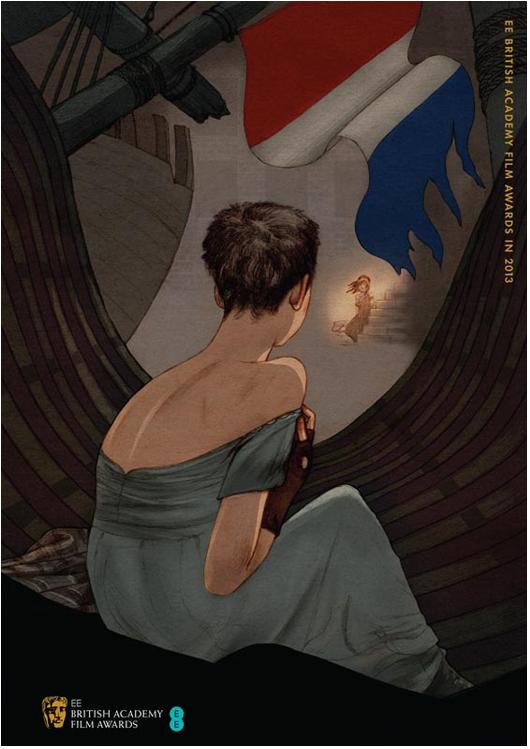 """""""Os miseráveis"""" (""""Les Miserábles"""") em cartaz especial ilustrado por Jonathan Burton (clique para ver outros!)"""