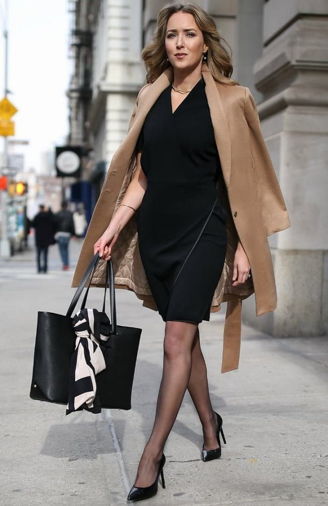 Wear Trench Coat Over Dress To A Funeral In Winter