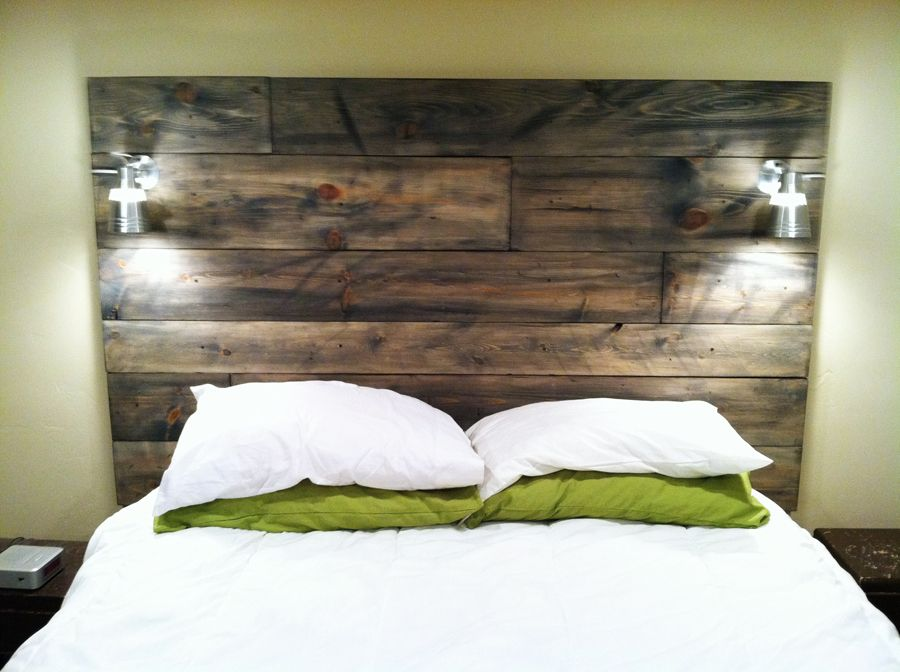 Barn Board Headboard Diy Headboard Wooden Home Decor Perfect