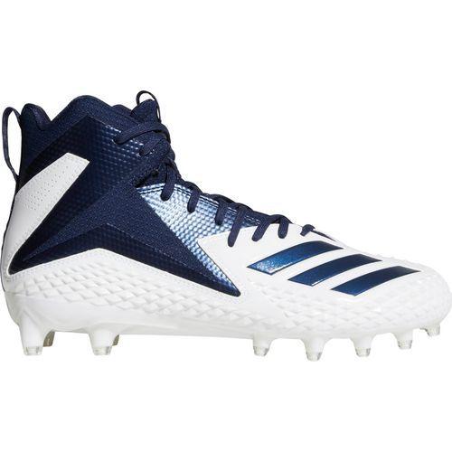 eb90d8bf05c Adidas Men s Freak X Carbon Mid Football Cleats (White Black
