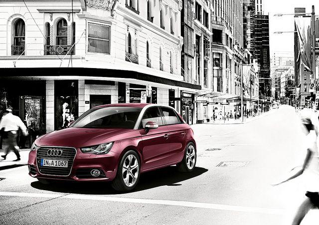 Audi A1 Sportback Shiraz Red Metallic Audi A1 Sportback Audi A1