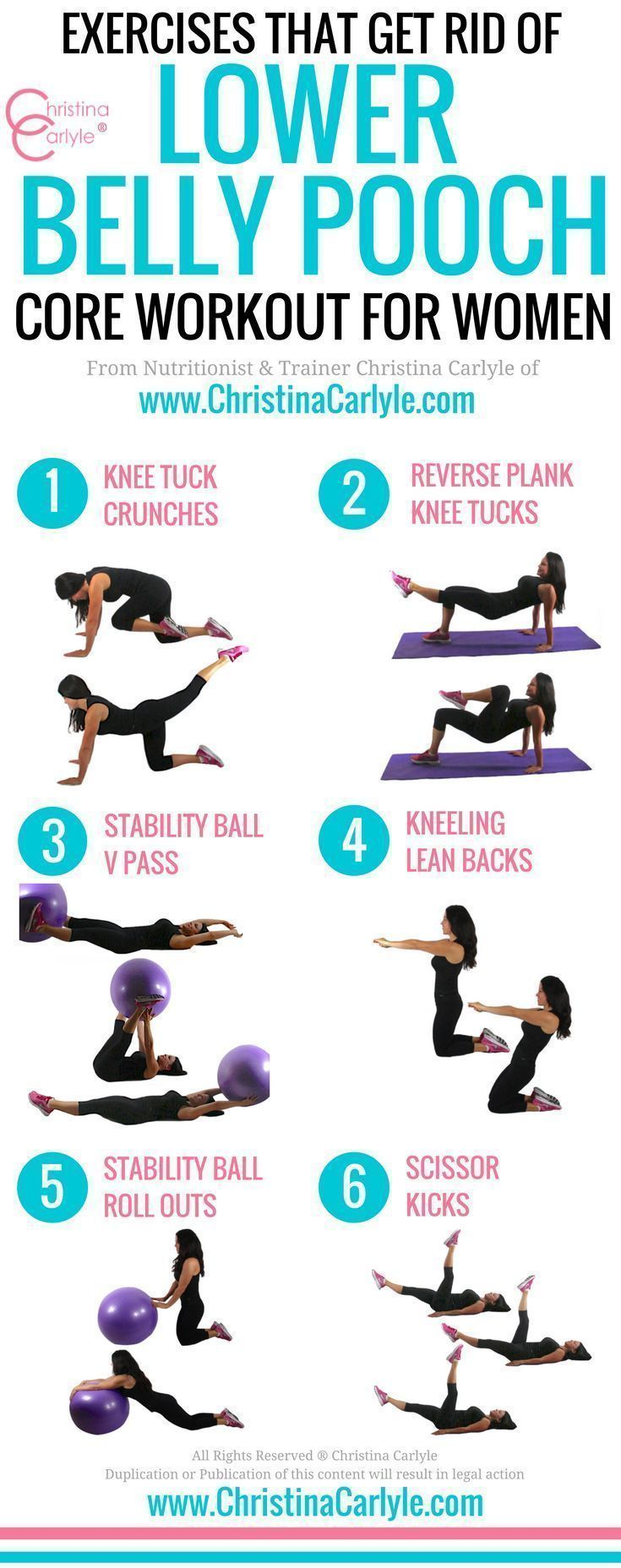 Photo of Exercises that Get Rid of Lower Belly (Pooch) Fat