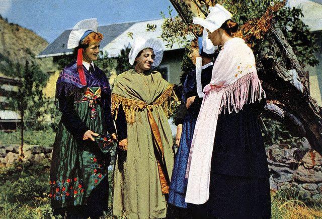 Savoie - Costume de la Region de Valloire, France