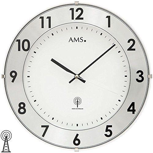 Funk-Wanduhr Precious AMS Uhrenfabrik http://www.amazon.de/dp/B00K1CAMWS/?m=A37R2BYHN7XPNV