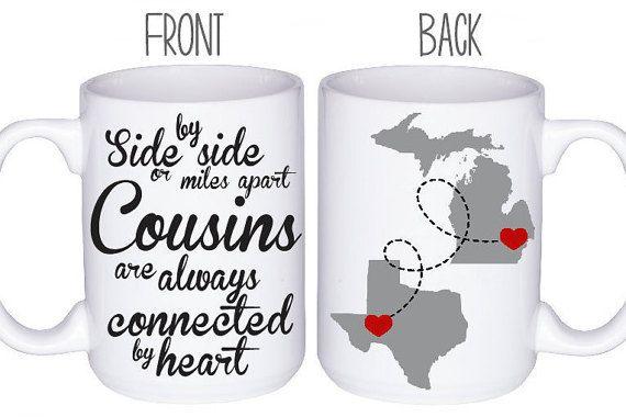 Cousins Mugs Coffee Mug Cousin Gift Idea By
