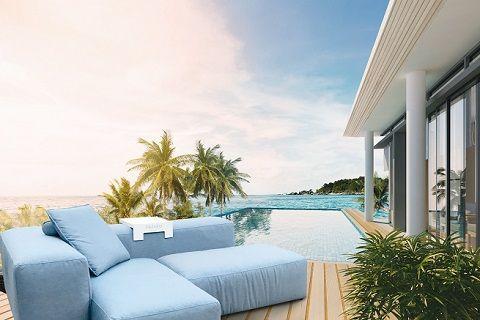IKONO gestaltet exklusive Spa-Lounge-Möbel für KLAFS Garten, Spa