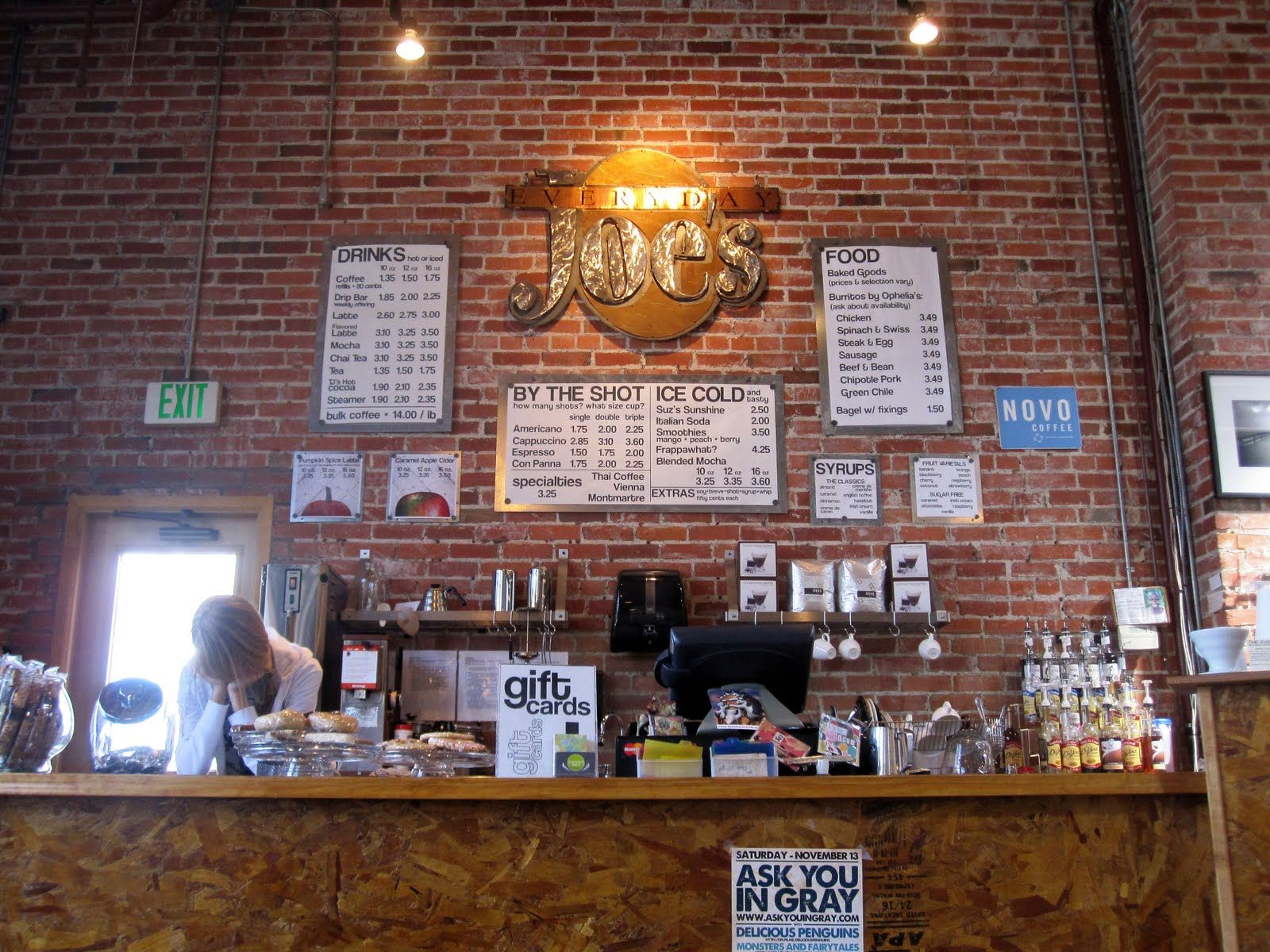 Everyday Joe S Coffee House Joe Coffee Coffee House Coffee Shop