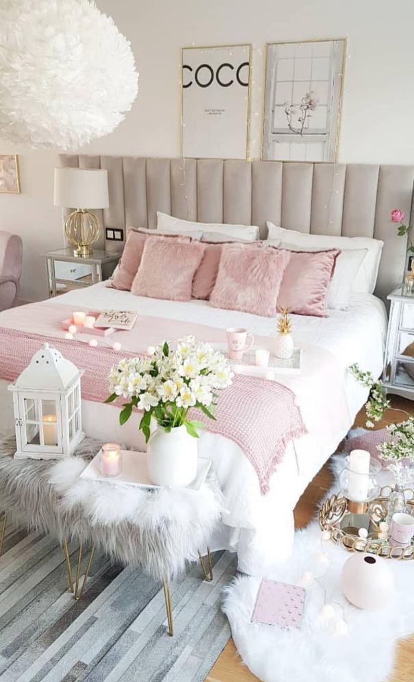 61 New Season And Trend Bedroom Design And Ideas 2020 Part 34 Modern Bedroom Decor Girl Bedroom Decor Bedroom Decor