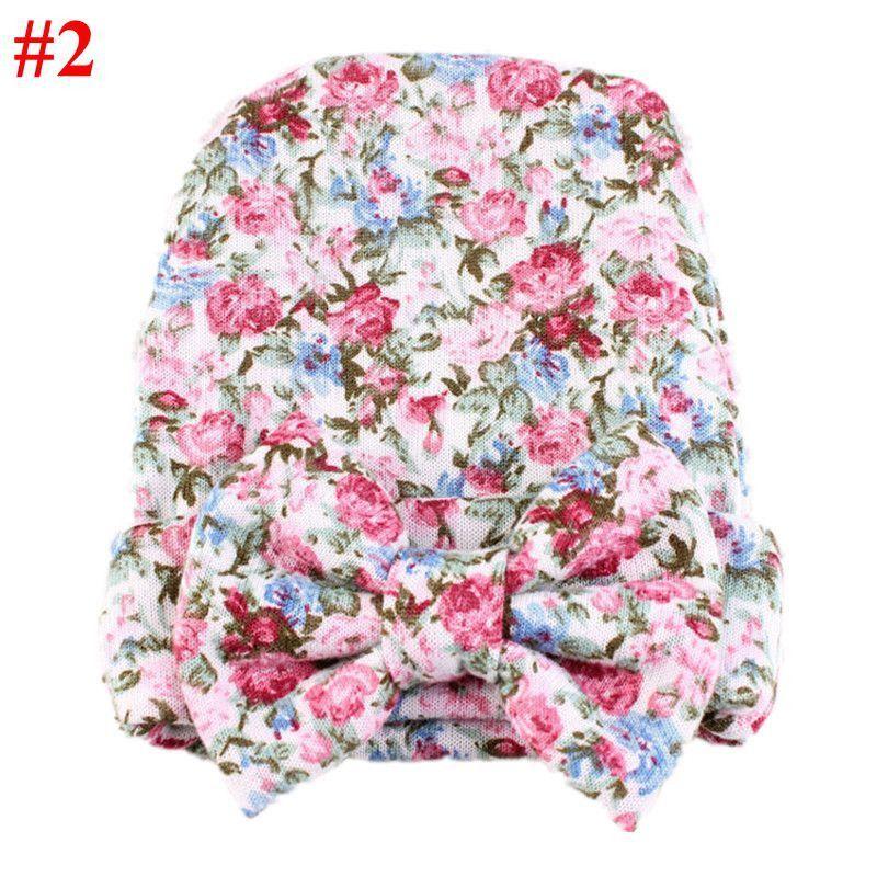 e3ab41471b0b New Brand Baby Cotton Hats Hot Newborn Toddler Cute Bow Girls ...