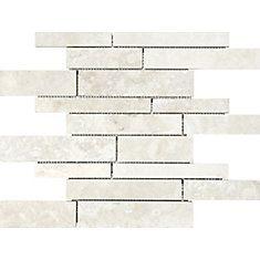 Shop Backsplashes At Homedepot Ca The Home Depot Canada Travertine Wall Tiles Stone Mosaic Wall Mosaic Wall Tiles