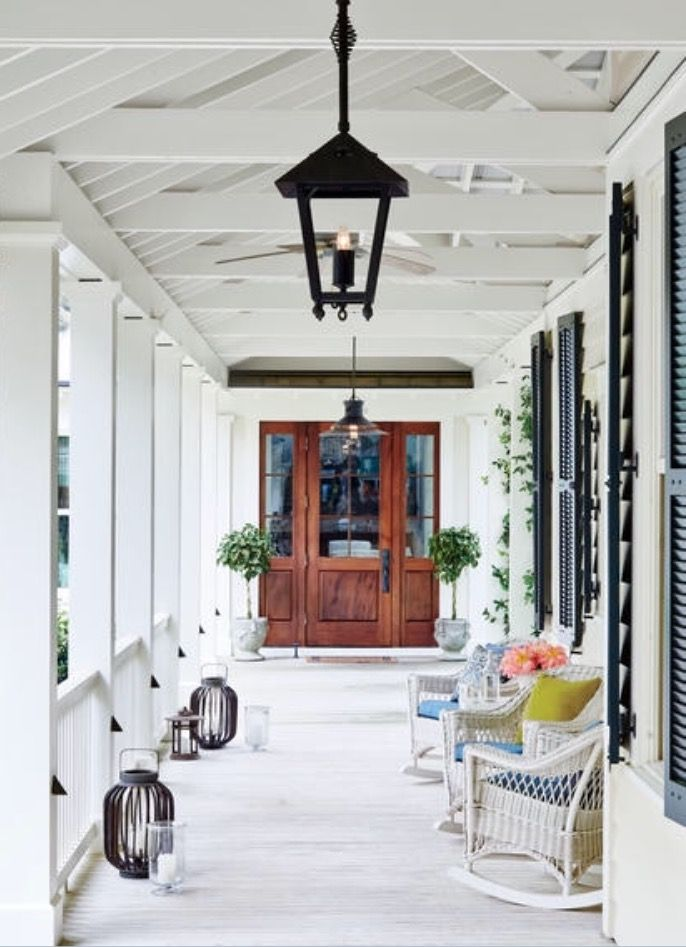 Pin de Designs by Katrina en Verandas Pinterest Casas