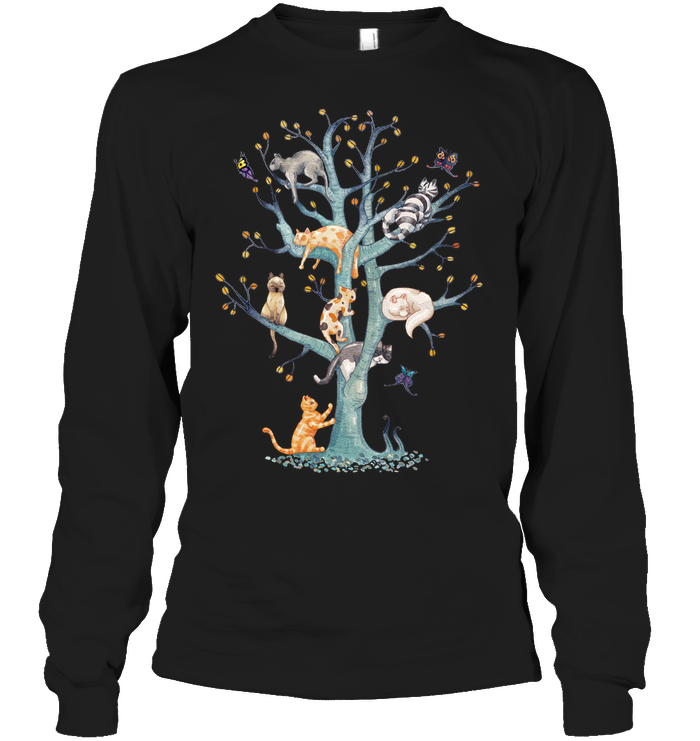 a0a8573f Cats Family Tree in 2019   Cat t-shirt   Cats, Cat gifts, Cat shirts