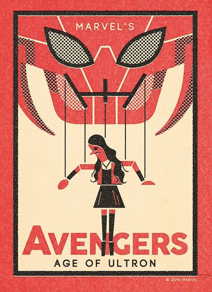 """The Avengers: Scarlet"" by Andrew Kolb"