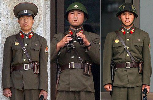 North Korea Military Rank And Uniform
