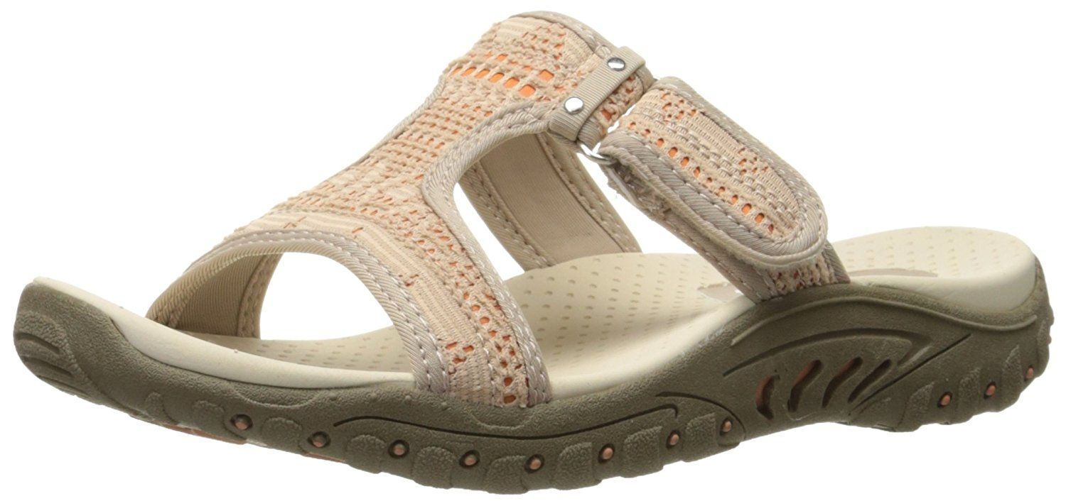 Skechers Women's Reggae T Strap Sandal >>> You can find more