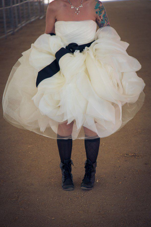 Boots On Bride