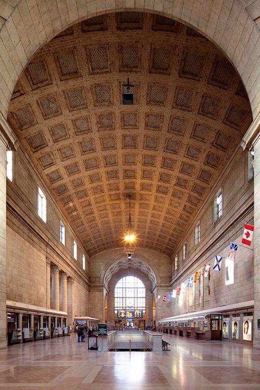 Grand Hall de la Gare Union , Montreal , Canada