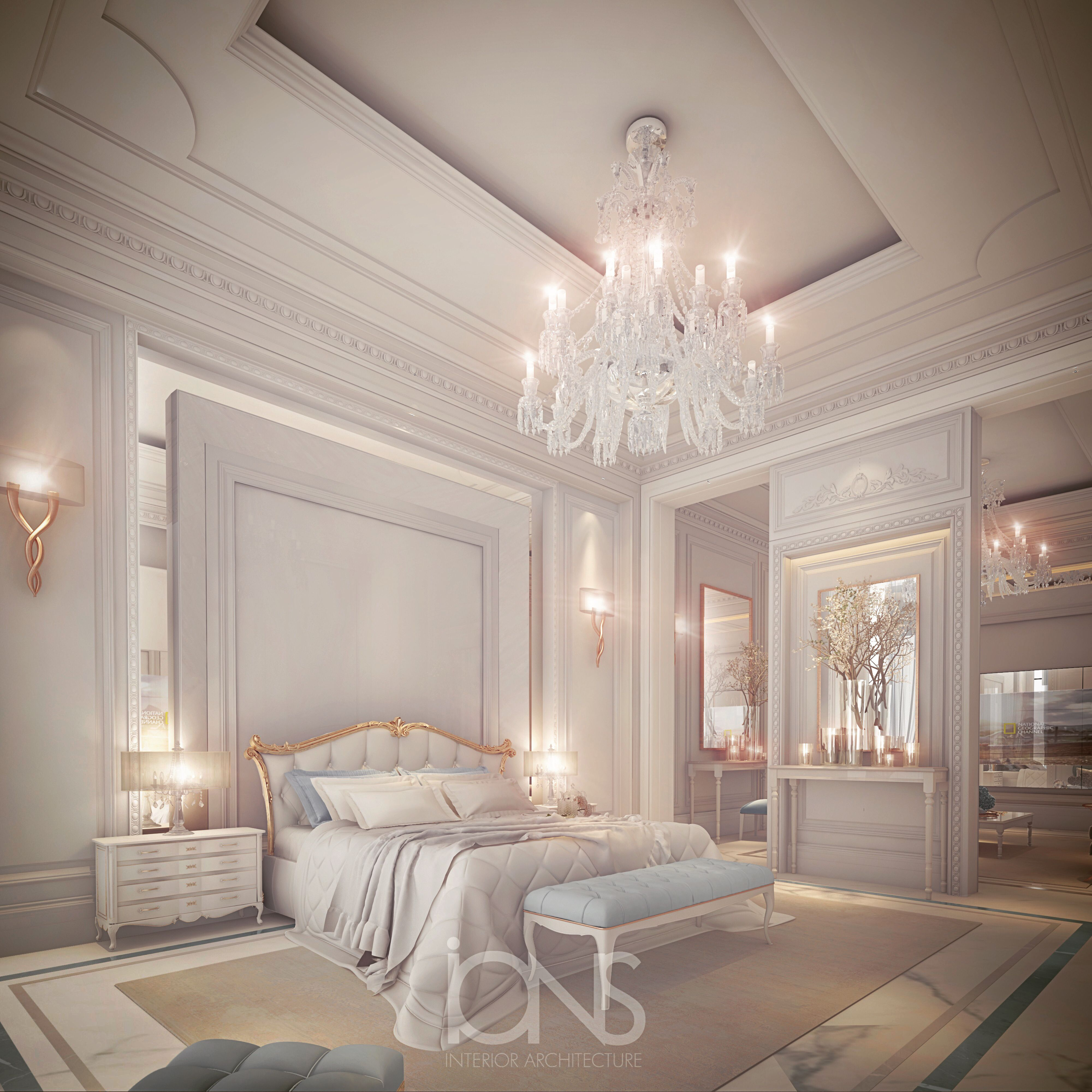 Master Bedroom Interior Design: Master Bedroom Design In Neo Classic Style Has Divine And