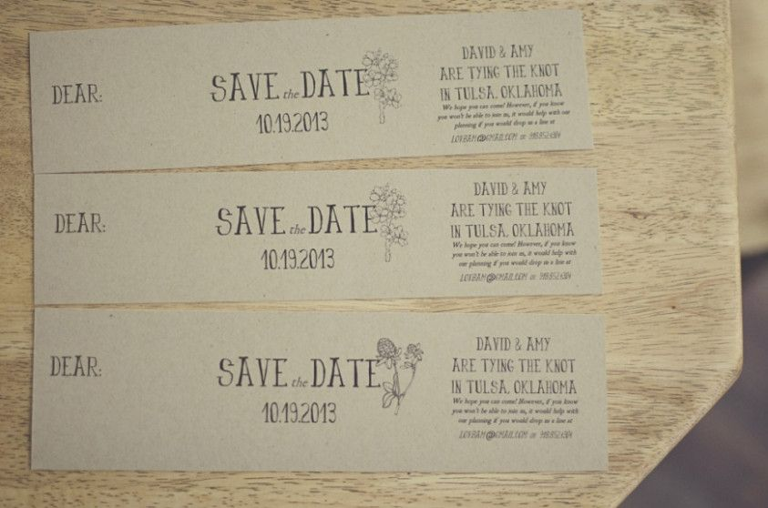 Save The Date Cards For Diy Wedding My Favorite Wedding Pin