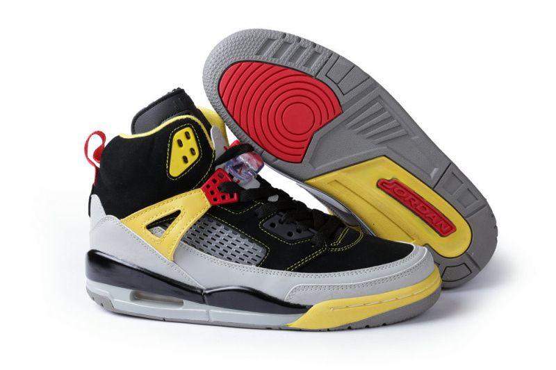 To Buy Popular Air Jordan 3.5 Fur Mens Shoes Black Yellow