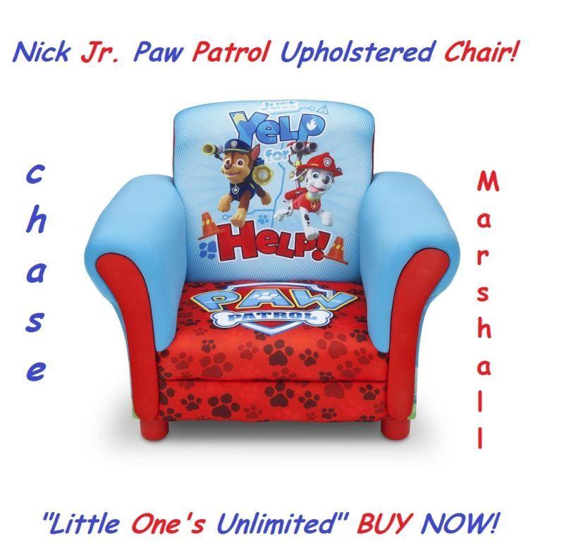 Kids Bedroom Chairs nick jr. paw patrol upholstered chair kids bedroom toddler chair
