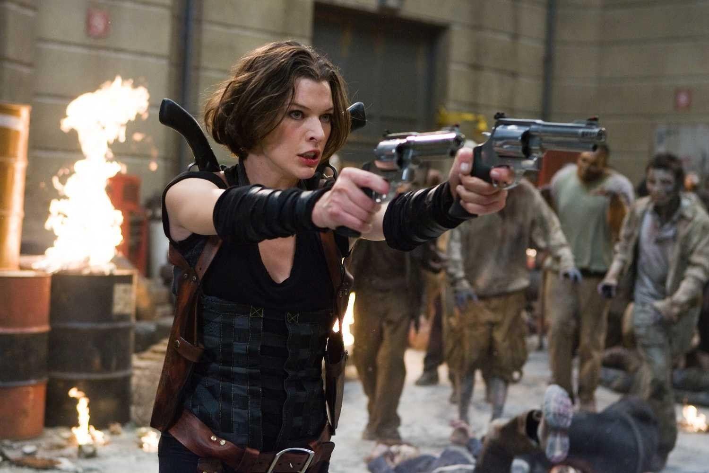 Milla Jovovich Hot Images Stills Photos Resident Evil Movie Resident Evil 5 Movie Resident Evil