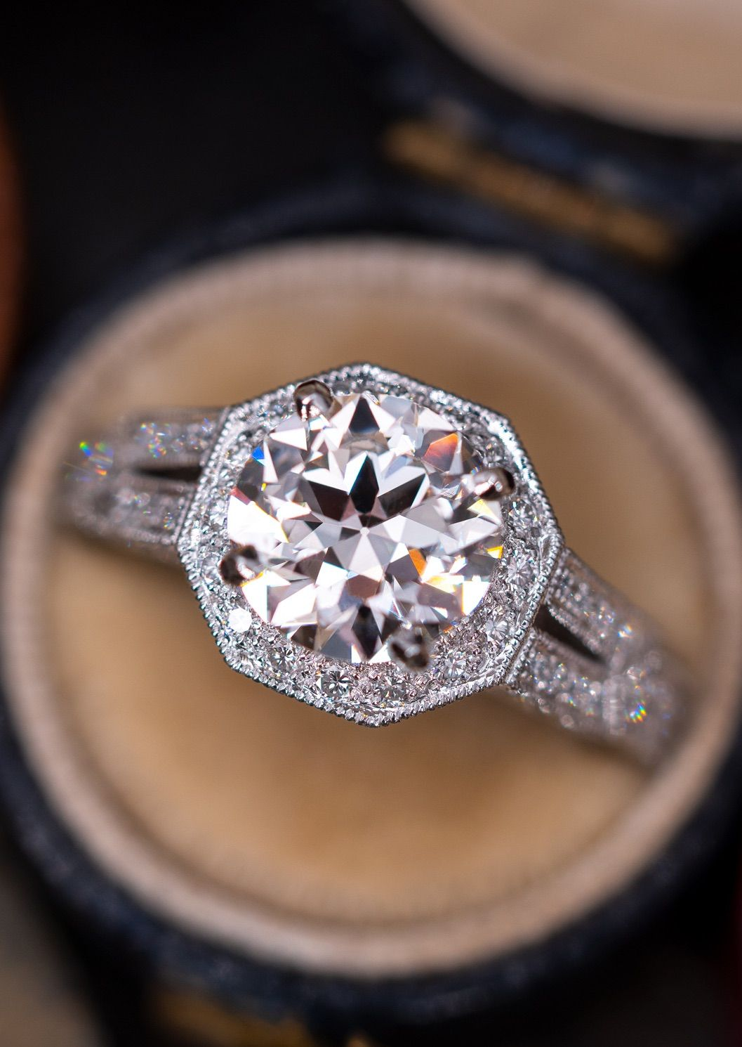 Pin On Estate Engagement Rings