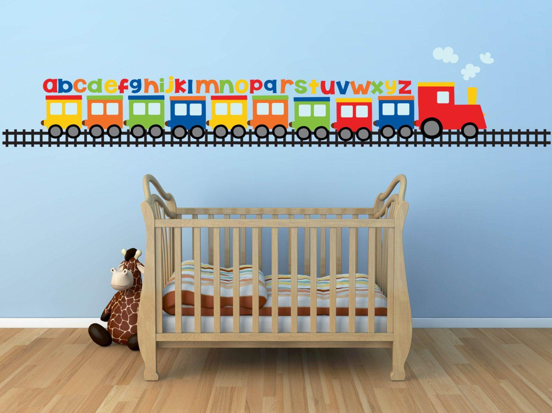 Baby Nursery Baby Boy Wall Decals For Nursery Train Wall Sticker - Make custom vinyl wall decalsvinyl wall decal sticker paint dripping s wall decals attic