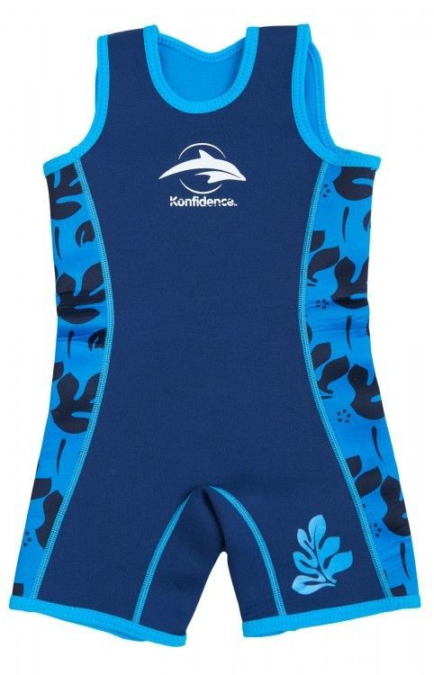ab750d0298 blue palm hibiscus Kinderen Zwemmen