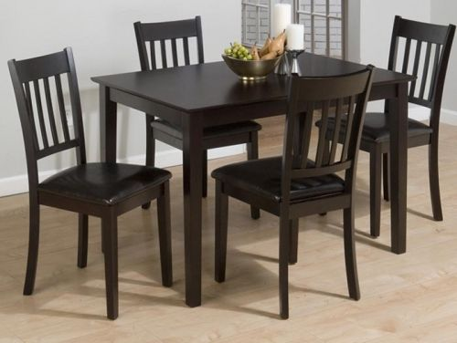 Jofran 261 Series 5 Piece Dining Table Set in Burly Brown and Black   261    Lowest price online on all Jofran 261 Series 5 Piece Dining Table Set in  Burly. Quality Furniture  Seattle  WA   1891   Dining Set   Seattle