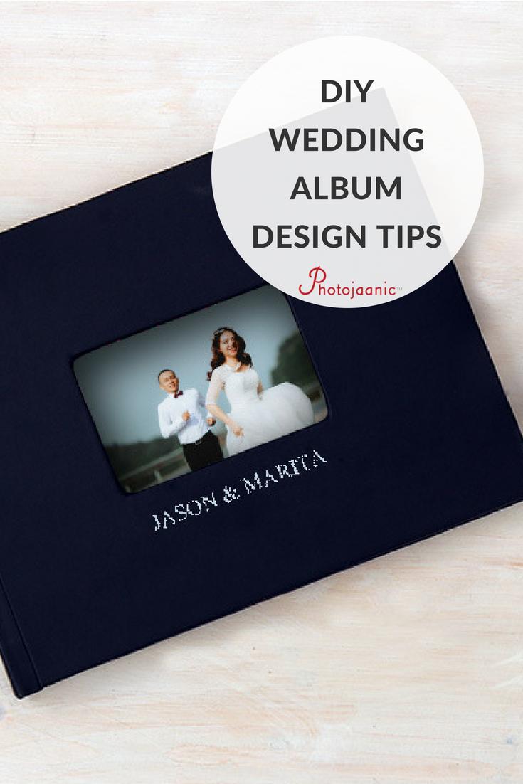 How to design your own wedding album wedding album ideas