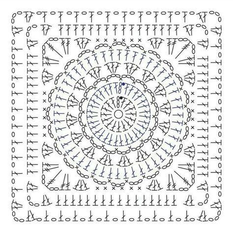 Super crochet patterns stitches granny squares 49 ideas #grannysquares