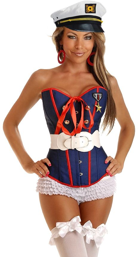 Sexy marine costumes